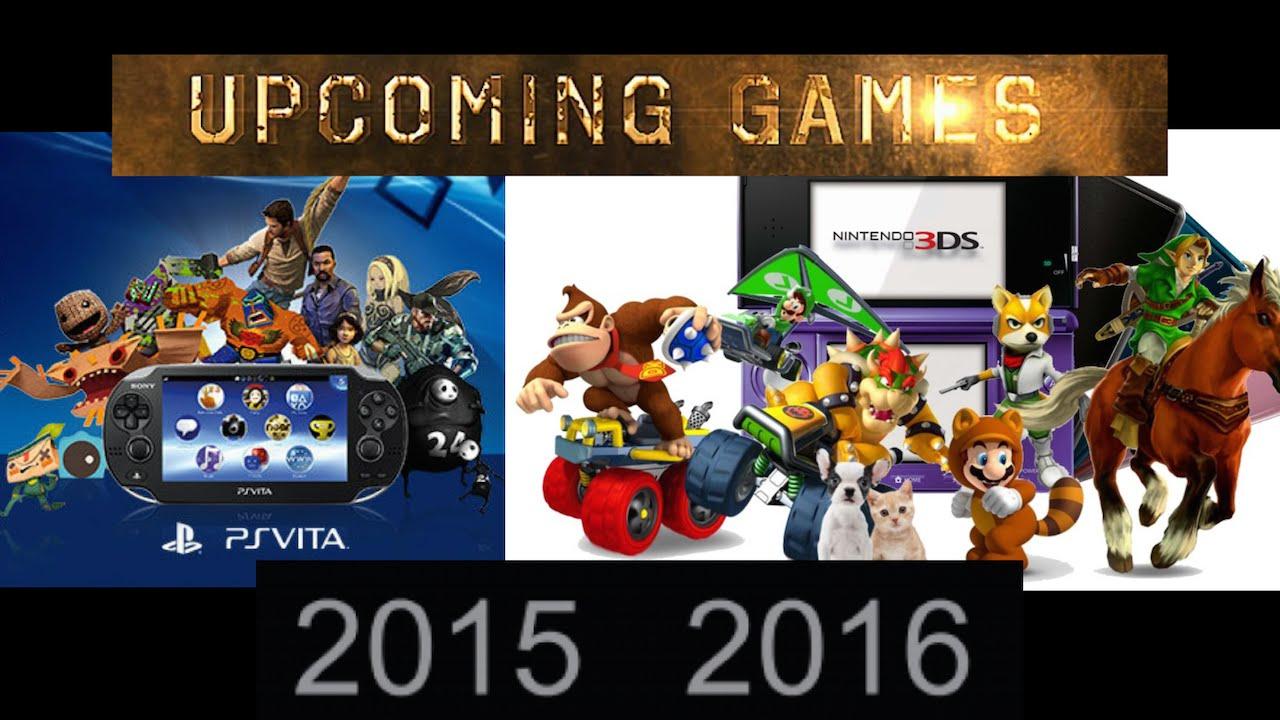 Upcoming 3DS \u0026 PS Vita Games Of 2015 \u0026 2016  YouTube