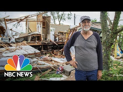 Man Returns Home To See What Hurricane Harvey Destroyed | NBC News
