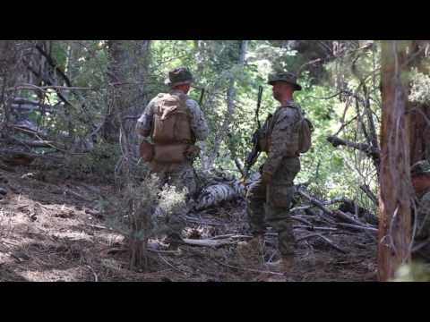 3rd Battalion 4th Marines take the Mountains