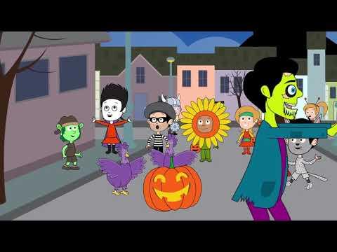 Halloween Funny ;happy Halloween Хэллоуин Ночь - Хэллоуин Песни - Дети Жуткий Песни И Д  Episode 28