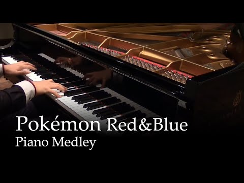 Pokémon Theme - Gotta catch 'em all! + Pokémon medley [piano]