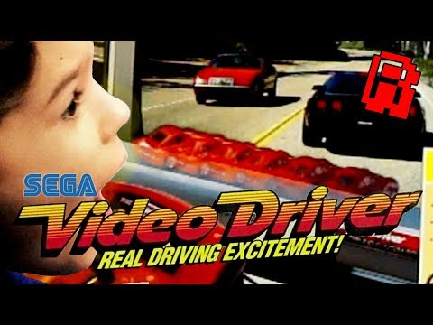 Sega VCR Video Driver Game | A Real Driving Experience?