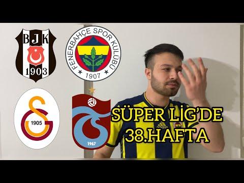 SÜPER LİG 'DE 38.HAFTA (parodi)