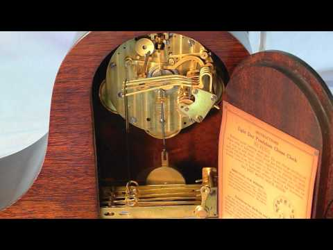"""New Haven """"Reverie"""" Antique Clock - Westminster Chimes.mov"""