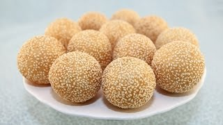 Sesame Balls Part 2:  Making The Dough (banh Cam)