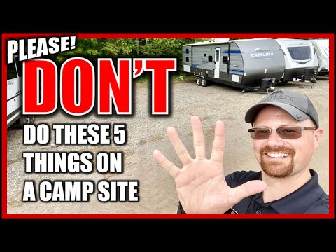 5 Golden Rules of Camping Courtesy!!