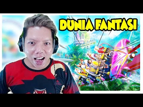 SELAMAT DATANG Di DUNiA FANTASi 😍  Planet Coaster Indonesia #1