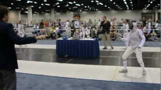 Summer Nationals fencing bout, 2012 Anaheim, CA