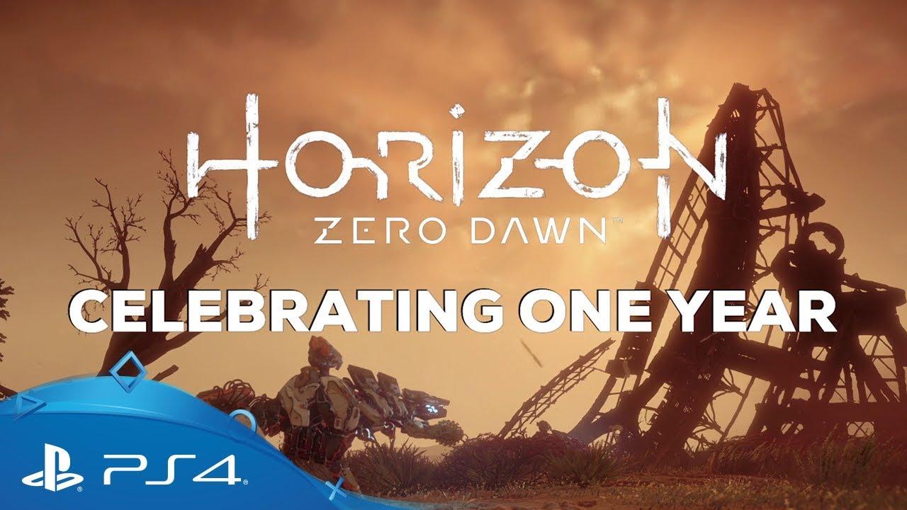 Horizon: Zero Dawn трейлер игры