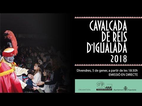 Cavalcada de Reis d'Igualada 2018