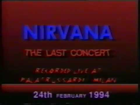 Nirvana @ Palatrussardi - Milan, Italy (Feb. 24, 1994) [AMT#2 - Full Show]