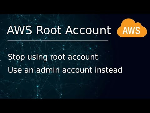 [ AWS 2 ] Create An Admin User Account And Stop Using Root Account