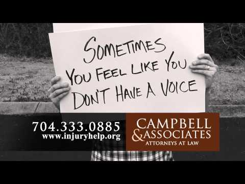 Let Us Be Your Voice | Personal Injury Law | Campbell & Associates