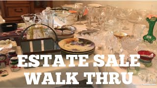 Come Estate Sale Shopping With Me! First Day & Full Price!
