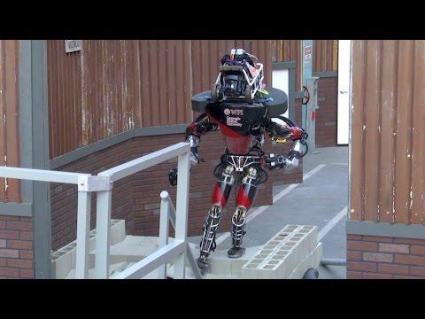 Humanoid Robots in Action – DARPA Robotics Challenge