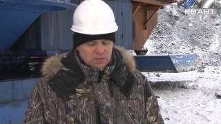 На разрезе «Красногорский» ввели в эксплуатацию новый шагающий экскаватор(, 2016-02-15T03:45:08.000Z)