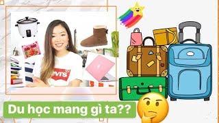 DU HỌC mang gì - KHÔNG mang gì ✈️ 🎓    Phuong PTT Nguyen