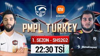 2021 PMPL Turkey SHS2G2 Sezon 1 PUBG MOBILE Pro League 2021 Zirve takibi kızışıyor