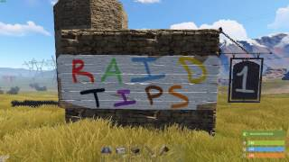 Rust Raid Tips #1 | The Solo Boost