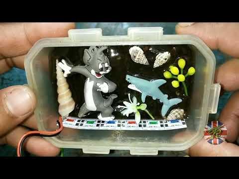 RESIN ART NIGHT LAMP