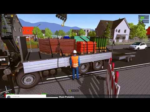 Construction Simulator 2015 Online Multiplayer , Lets Build !