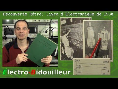 """EB_#150 Découverte Rétro: Livre """"Principles of Electricity"""" de 1938"""