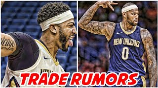 NBA TRADE DEADLINE UPDATES! COUSINS NOT GETTING TRADED | WARRIORS PLOTTING ON ANTHONY DAVIS