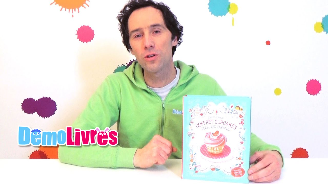 coffret cupcakes pour les enfants livre enfant 6 8 ans d mo livres youtube. Black Bedroom Furniture Sets. Home Design Ideas