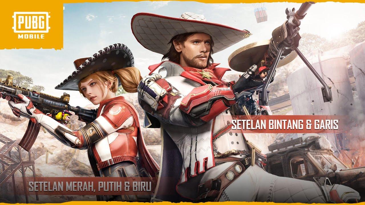Set Keren Cowboy di Medan Pertempuran PUBG Mobile