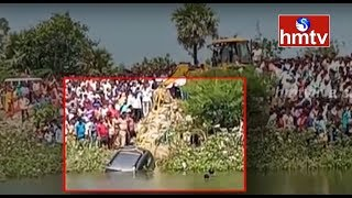 యాదాద్రి భువనగిరి జిల్లాలో ప్రమాదం ... ముగ్గురు మృతి | hmtv
