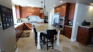 Dove Canyon Traditional Brown U-shaped Design Build Kitchen Remodel With Custom Hood
