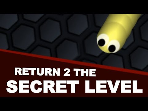 Return To The Slither.io SECRET CREEPY LEVEL (SCARY)