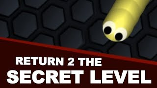 Return to the Slither.io SECRET CREEPY LEVEL (SCARY)
