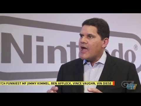 E3 2013: Reggie Fils-Aime Interview - Part 1