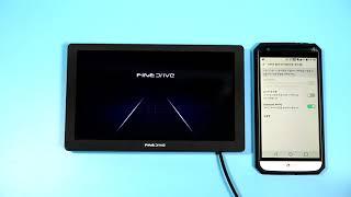 파인드라이브 Q100 네비게이션 wifi 및 블루투스 …