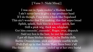 6ix9ine - MAMA (Lyrics) Feat. Nicki Minaj & Kanye West