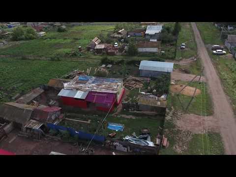 Ураган в Заглядино  . Оренбургская область ,часть 2