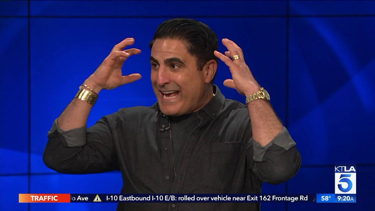 Shahs Of Sunset Star Reza Farahan On His New Luxury Hair Products Youtube