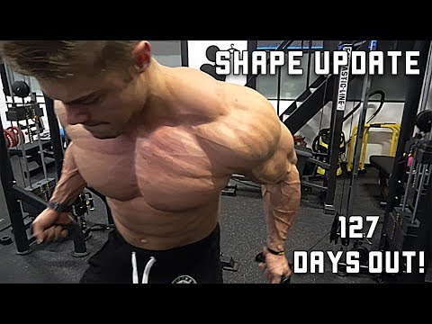 Full Chest Workout with Dad - CURRENT Shape - 127 Days Out
