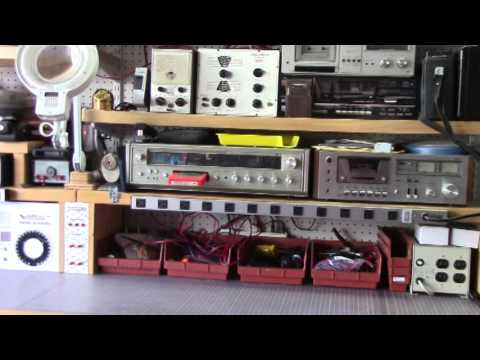 Electronics Bench Tour