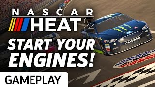 NASCAR Heat 2 - Monster Energy Series And Split-screen Gameplay