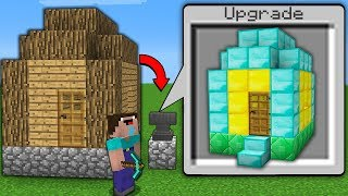 Minecraft NOOB vs PRO : NOOB FOUND SECRET ANVIL AND UPGRADED THIS HOUSE! (Animation)