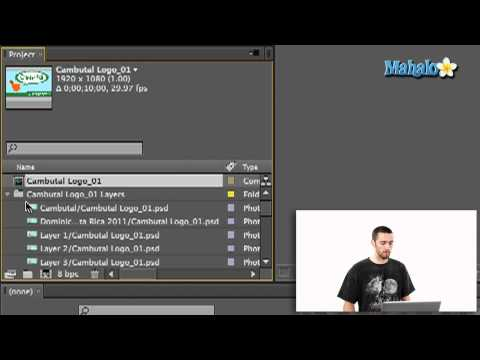 How To Import Photoshop Layers Into Adobe After Effects