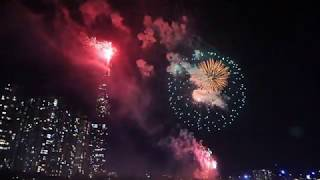 Happy New Year 2020 Bắn pháo hoa tại Landmark 81
