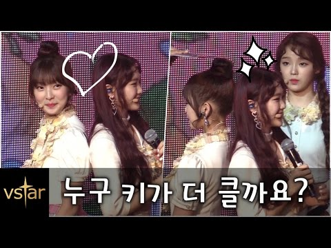 '폭풍성장' 아린(Arin), 지호(Jiho)와 '키재기' @오마이걸(OH MY GIRL) 컴백 쇼케이스