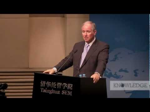 Stephen Schwarzman, CEO and co-founder of Blackstone at the 2012 Tsinghua Management Global Forum