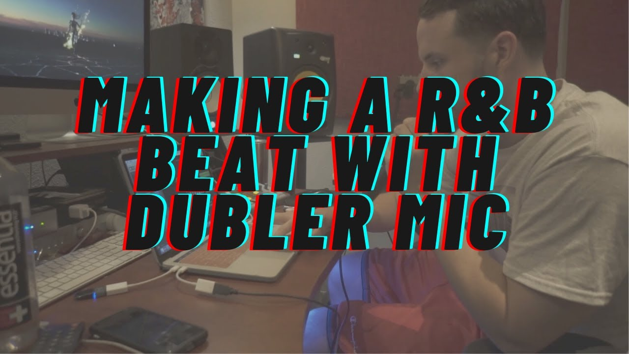 Making a smooth R&B type beat out the Vochlea Dubler Audio To Midi Studio Kit in Logic Pro X