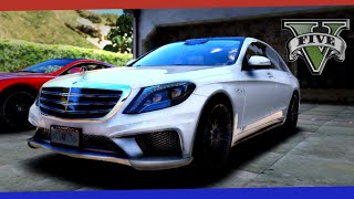 ►GTA 5 - Mercedes Benz S65 AMG W222 Car MOD Showcase - 1080p 60fps