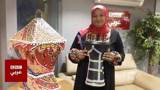 """أول سيدة """"مسحراتية"""" في مصر"""