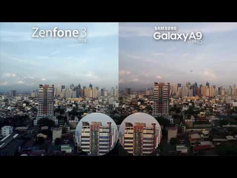 Galaxy A9 Pro vs Zenfone 3 Ultra Camera Review + Comparison